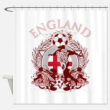 England Soccer Shower Curtain