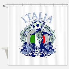 Italia Soccer Shower Curtain