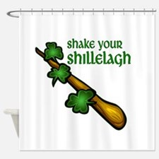 Shake Your Shillelagh Shower Curtain
