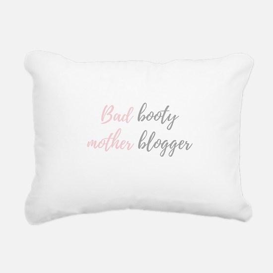 Mom Blogger Rectangular Canvas Pillow