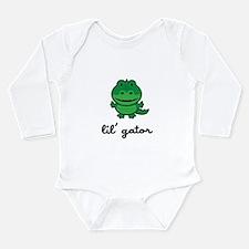 Lil Gator Long Sleeve Infant Bodysuit