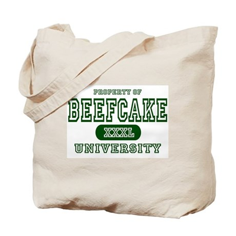 Beefcake University Tote Bag