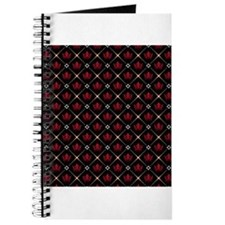 Red Crown Pattern Journal