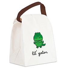 Lil Gator Canvas Lunch Bag
