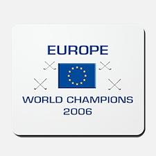 Europe - World Golf Champions Mousepad