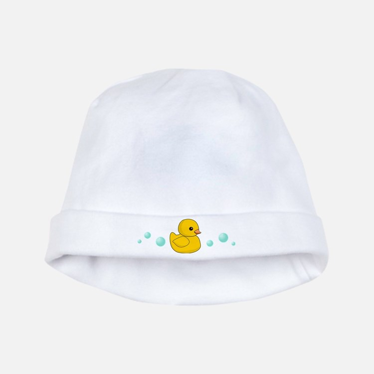 Rubber Duck baby hat