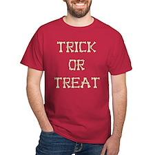 Halloween Bones & Blood Shirt, minimalist costume