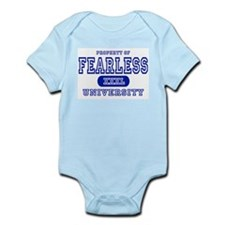 Fearless University Infant Bodysuit