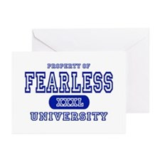 Fearless University Greeting Cards (Pk of 10)
