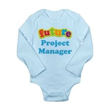 Future Project Manager Long Sleeve Infant Bodysuit