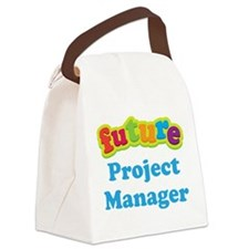 Future Project Manager Canvas Lunch Bag