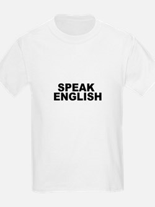 Speak English Kids T-Shirt