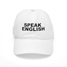 Speak English Baseball Cap