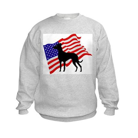 Louisiana Catahoula Leopard D Kids Sweatshirt