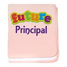 Future Principal baby blanket