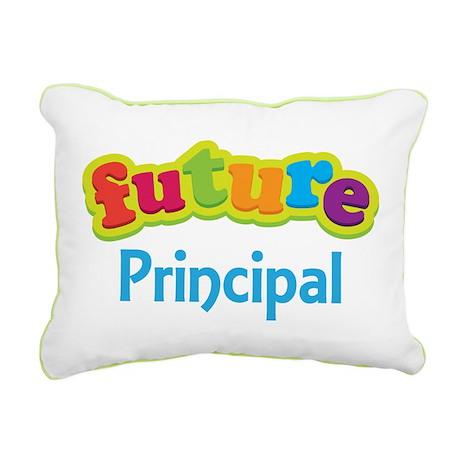 Future Principal Rectangular Canvas Pillow