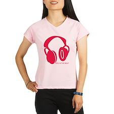 Headphones Beat Performance Dry T-Shirt