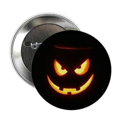 Evil Glowing Jack o'Lantern Pin