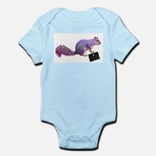 Purple Squirrel Infant Bodysuit
