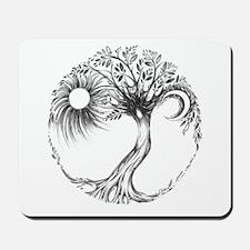 Tree of Life by Liza Paizis Mousepad