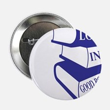 "Lost in Books 2.25"" Button"