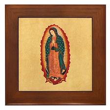 Virgin Of Guadalupe Framed Tile