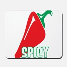 Spicy Red Pepper Mousepad