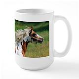 American paint horse Large Mugs (15 oz)
