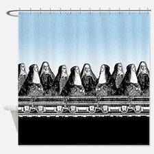 Nun Train Shower Curtain