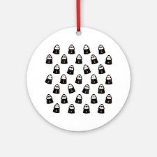 Cute Nuns Ornament (Round)
