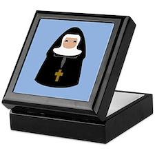 Cute Nun Keepsake Box