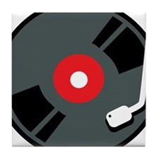 Record Player Tile Coaster