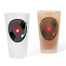 Record Spinning Tunes Drinking Glass