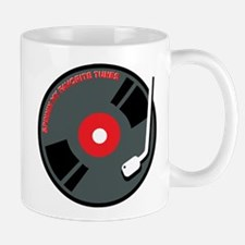 Record Spinning Tunes Mug