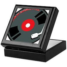 Record Spinning Tunes Keepsake Box