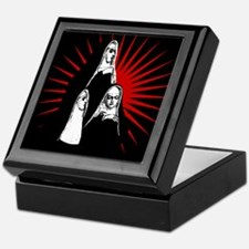 Nuns Graphic Keepsake Box