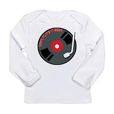 Vinyl Record Best Long Sleeve Infant T-Shirt