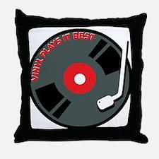 Vinyl Record Best Throw Pillow