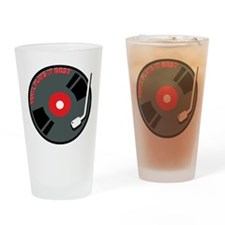Vinyl Record Best Drinking Glass