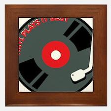 Vinyl Record Best Framed Tile