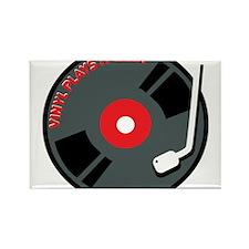 Vinyl Record Best Rectangle Magnet