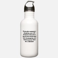 Cute Frustrated Water Bottle