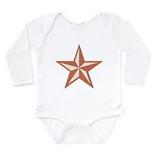 Western Star Long Sleeve Infant Bodysuit