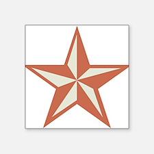 "Western Star Square Sticker 3"" x 3"""