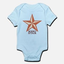 Western Rodeo Star Infant Bodysuit