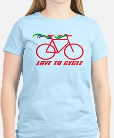 Bicycle Love to Cycle T-Shirt