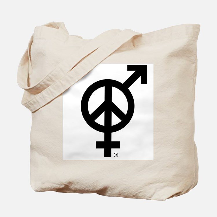 Peace Among and Within The Sexes Tote Bag