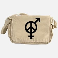 Peace Among and Within The Sexes Messenger Bag