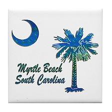 Myrtle Beach 1 Tile Coaster