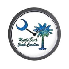 Myrtle Beach 1 Wall Clock